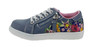 Tom Tailor 2772717 Sneaker Blumenapplikationen Blau 001