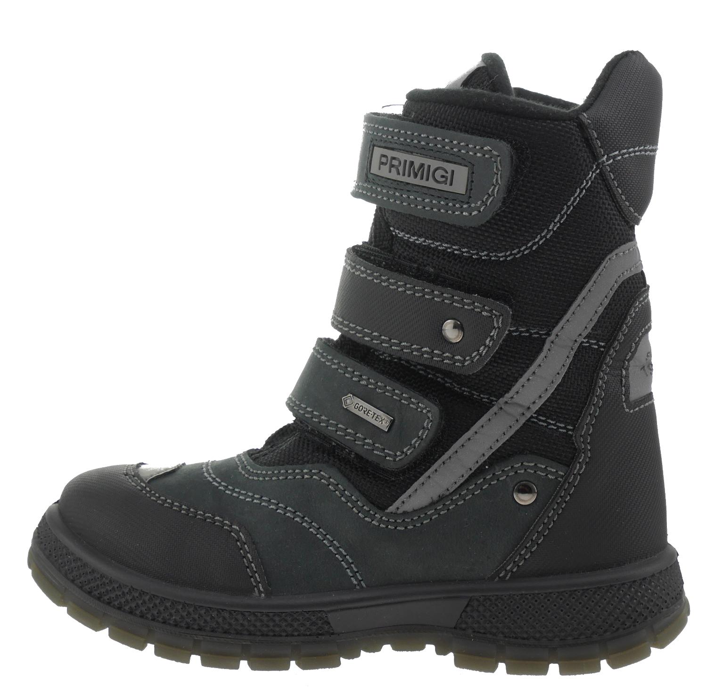 4d865e076f2751 Primigi 6648277 Winterstiefel Leder schwarz Kinderschuhe Stiefel ...