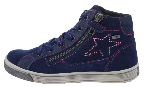 Gabor girls 1790102 High-Top Sneaker Wildleder navy – Bild 1