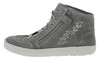 Richter 4441156 High-Top Sneaker Wildleder grau  001