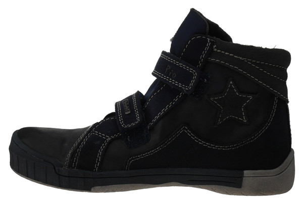Pio 7049 High-Top Sneaker blau grau