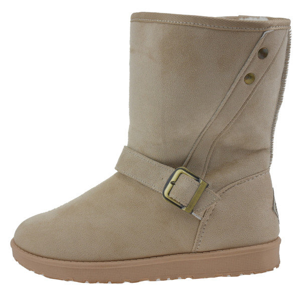 Island Boot Mango is16044 Winterstiefel sand – Bild 1