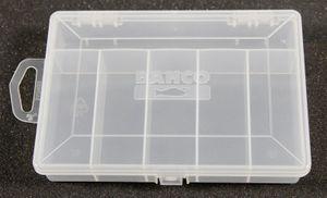 Bahco PTB401165-6  Sortierbox Transparent mit Unterteilungen