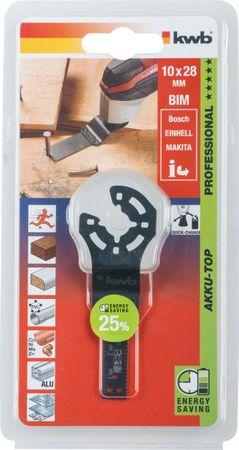 KWB 709250 Universal-Tauchsägeblatt, Bi-Metall 10mm