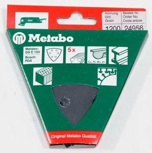 25x Metabo 24956 Haftschleifblatt SIC P1200