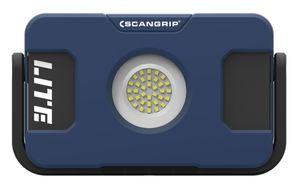 Scangrip 03.5630 FLOOD LITE S Akku-LED-Baustrahler mit USB-Powerbank