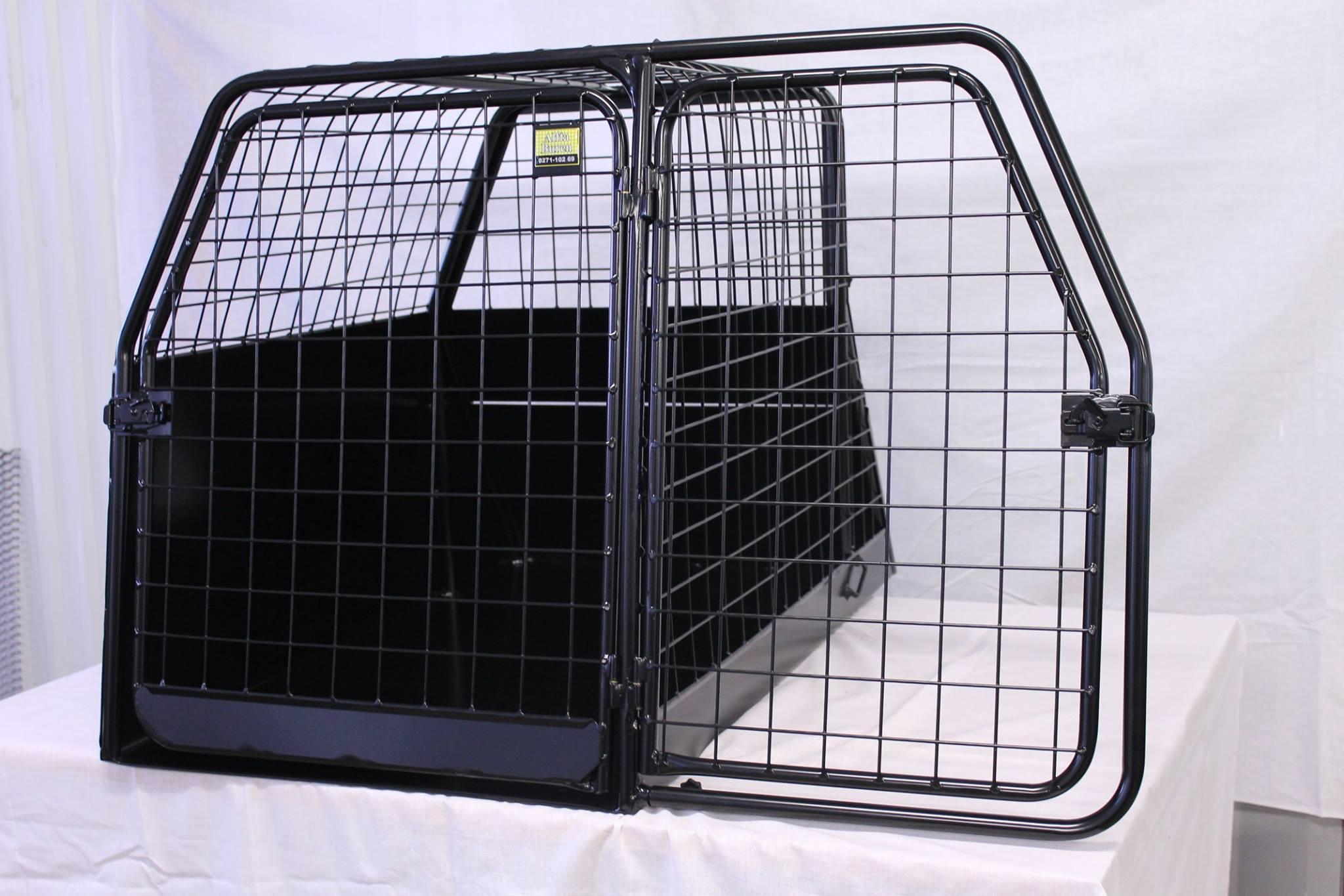 Hundetransportbox Einzelbox und Gittertür