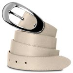 CASPAR GU236 Womens Nappa Leather Belt