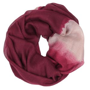 CASPAR Womens Loop Scarf with Beautiful Colour Gradation - SC316
