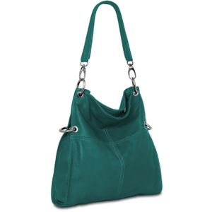 CASPAR TL628 Womens Multi Functional Leather Handbag