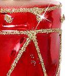 SIKORA Christbaumschmuck Glas Ornament / TROMMEL - H:6cm