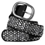CASPAR GU263 Women Studded Belt