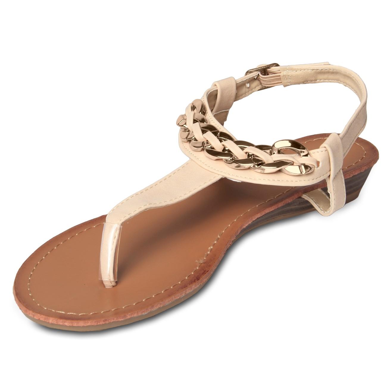 Zehentrenner Sandaletten DDD261