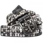 GU279 Womens Vintage Belt with Rhinestones and Studs