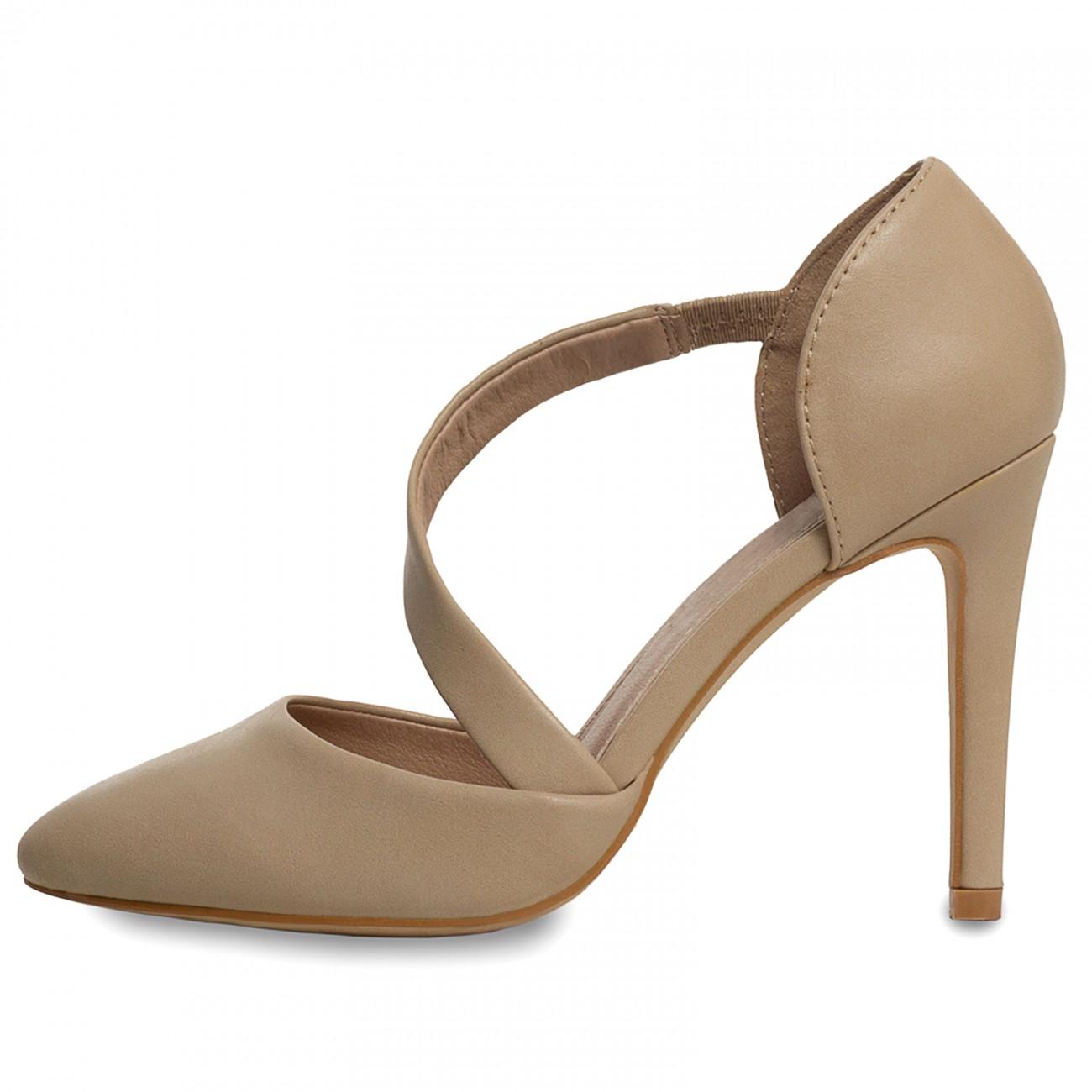 CASPAR Damen High Heels Pumps mit hohem Absatz und