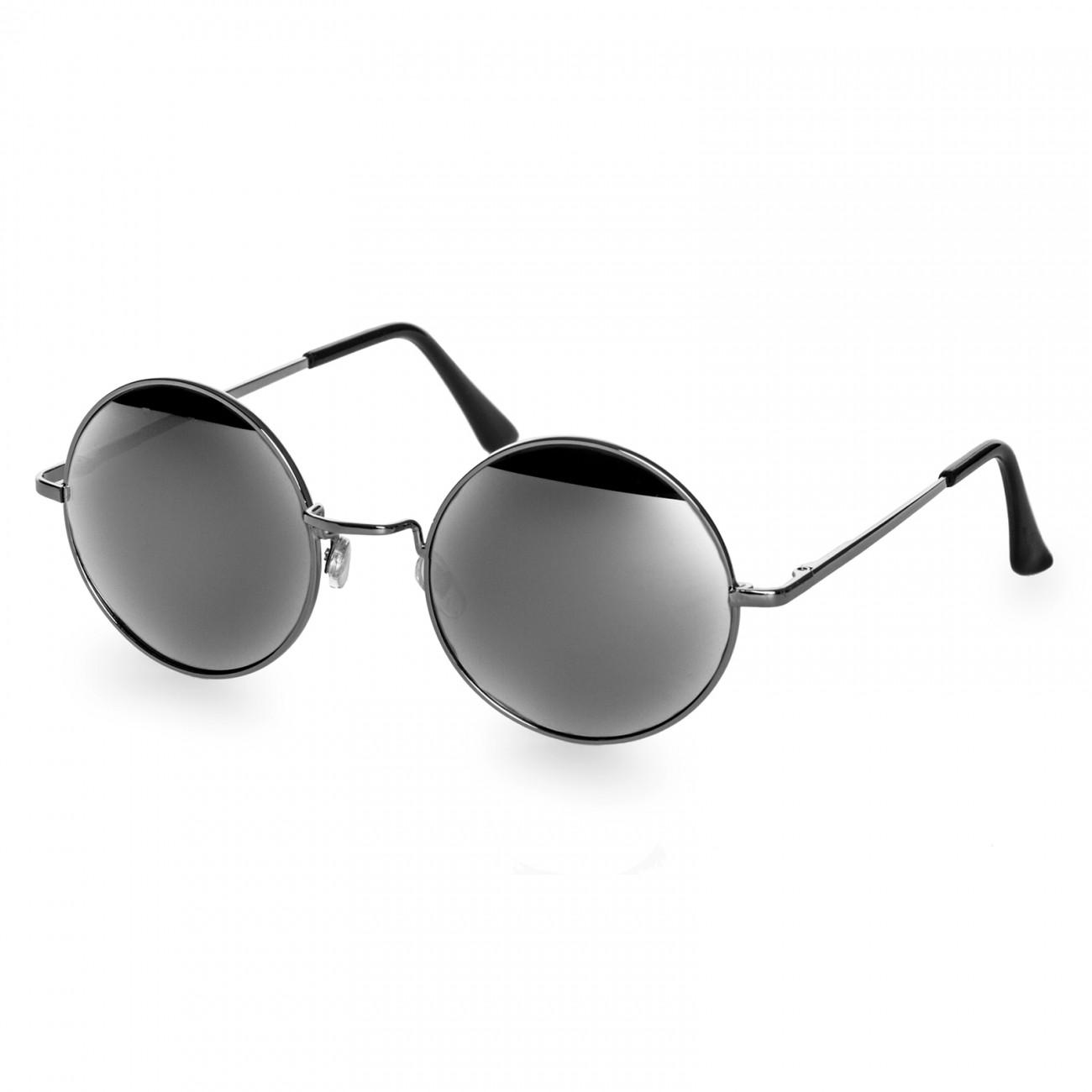 caspar sg038 gro e runde retro sonnenbrille rundbrille hippi brille nickelbrille. Black Bedroom Furniture Sets. Home Design Ideas