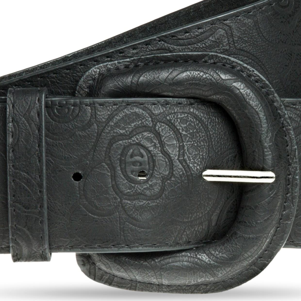 caspar gu295 damen breiter g rtel tailleng rtel mit. Black Bedroom Furniture Sets. Home Design Ideas