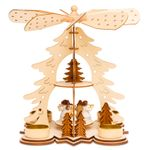 SIKORA P27 Wooden Christmas Pyramid H:26 cm / 10 inches
