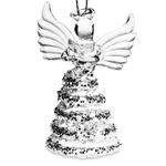 SIKORA BS409 Christmas Tree Ornament Angel with Book