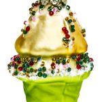 SIKORA BS442 Christmas Tree Ornament: Ice Cream 9cm