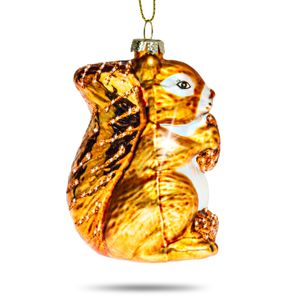 SIKORA BS392 Christmas Tree Ornament: Squirrel 8cm