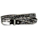 Caspar GU299 Women's Skinny Belt