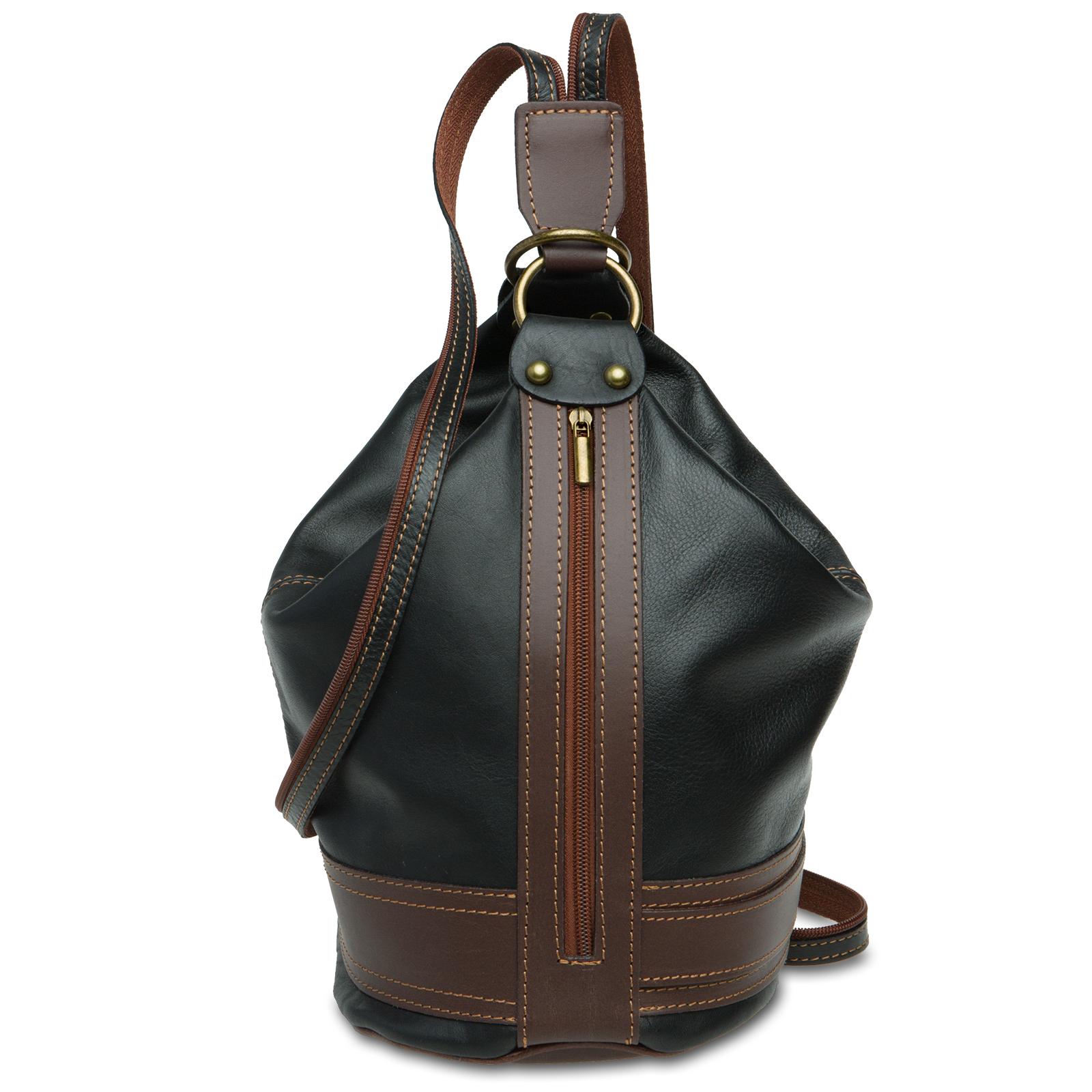 caspar tl721 2 in 1 rucksack handtasche schultertasche. Black Bedroom Furniture Sets. Home Design Ideas