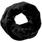 Caspar SC480 Women's Elegant Winter Infinity Scarf Warm Faux Fur Circle Snood