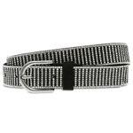 CASPAR GU312 Elegant Glitter Hip Waist Belt for Women with Strass