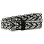 CASPAR GU313 Elegant Glitter Hip Waist Belt for Women with Stylish Strass Pattern