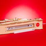SIKORA LB70 beleuchteter LED Holz Schwibbogen WEIHNACHTSDORF inklusive Trafo
