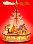 SIKORA P33 Wooden Christmas Pyramid with Electric Drive a