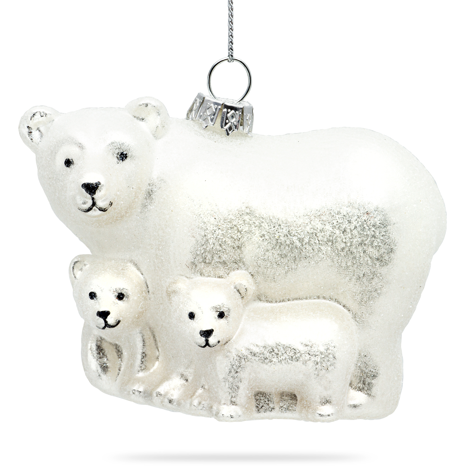 Polar Bear Family Sikora Christmas World