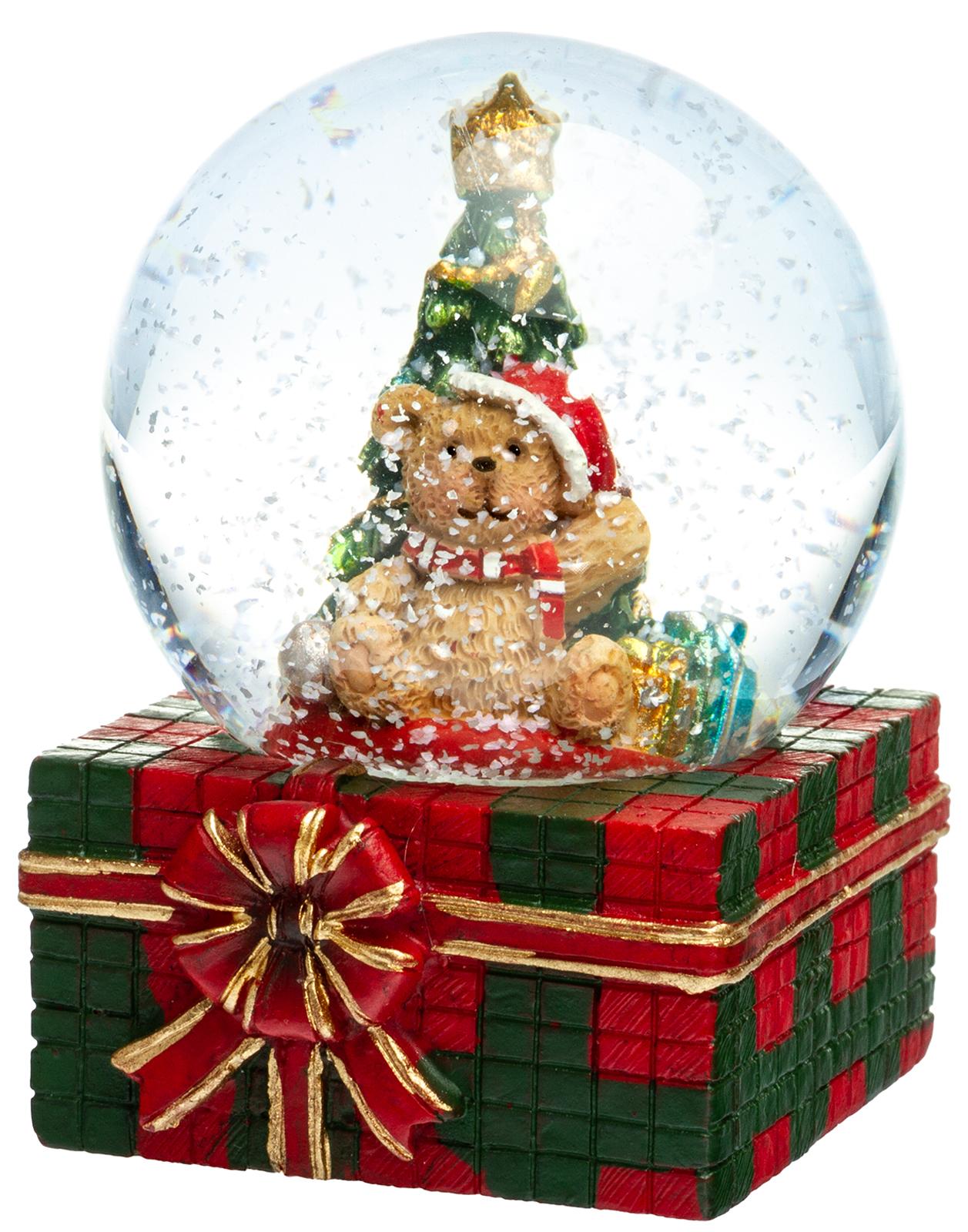 Schneekugel No 8 Sikora Weihnachtswelt