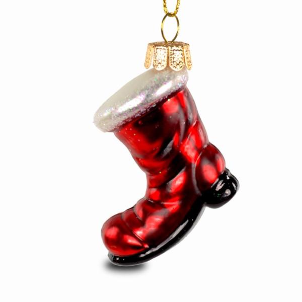 Sikora Bs219 Christbaumschmuck Glas Ornament Nikolaus Stiefel H