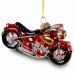 Sikora BS222 Christmas Tree Decoration Harley Davidson Motorcycle 12 cm