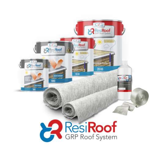 25m2 450g Fibreglass Roof Kit ResiRoof