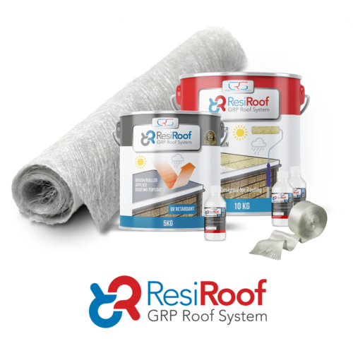 5m2 450g Fibreglass Roof Kit resiroof