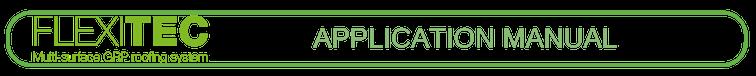 Flexitec2020 application manual