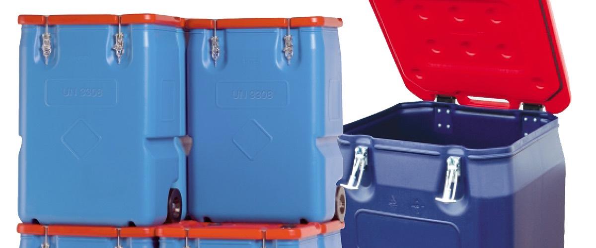 Abwurfbehälter 170L für gefährliche Krankenhausabfälle