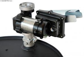 Benzinpumpe 50l 220V mit Halter und Adapter