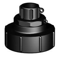 IBC Adapter S100x8 Innengewinde auf 1 Zoll BSP Innengewinde