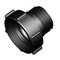 Adapter M80x3 IG auf S60x6 AG
