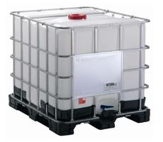 IBC Container 1000L mit Kunststoffpalette mit CDS Saugrohr für AdBlue – Bild 1