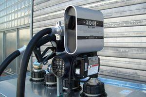 Hoftankstelle Betriebstankstelle 1000 Liter Zähler autom Pistole – Bild 2