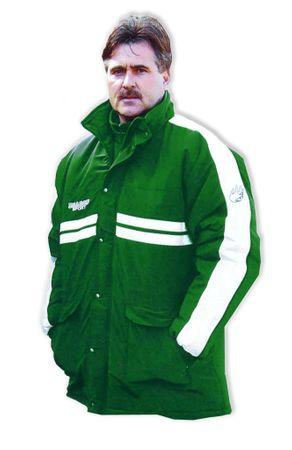 Coachjacke DÜSSELDORF, Farbe: grün/weiss, Größe: XXL – Bild 1