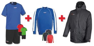 NEW Sport - Spiel - Trainings - Set (Trikotset + Sweat + Outdoorjacke)