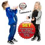 SET: Trainingsanzug AL mit BALL 001