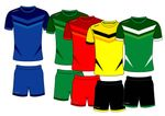 Fussball Trikot - Set DESIGN 1 001