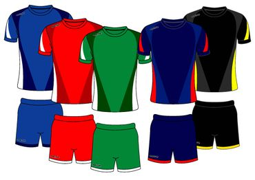 Fussball Trikot - Set DESIGN 3